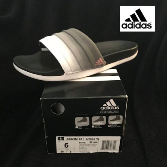 d71e5b3fa Adidas Adilette CF+ Armad Slides Size 6